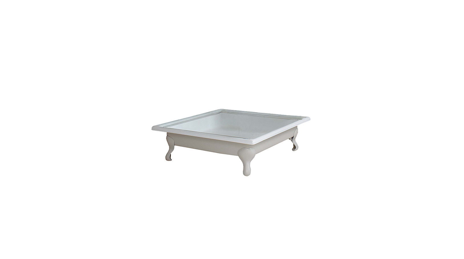 Large Cast Iron Shower Tray  Ball & Claw Feet