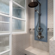 The Dalby Surface Mounted Shower, Straight Arm