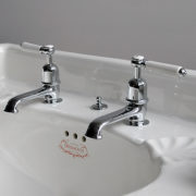 The Coll Lever Basin Taps