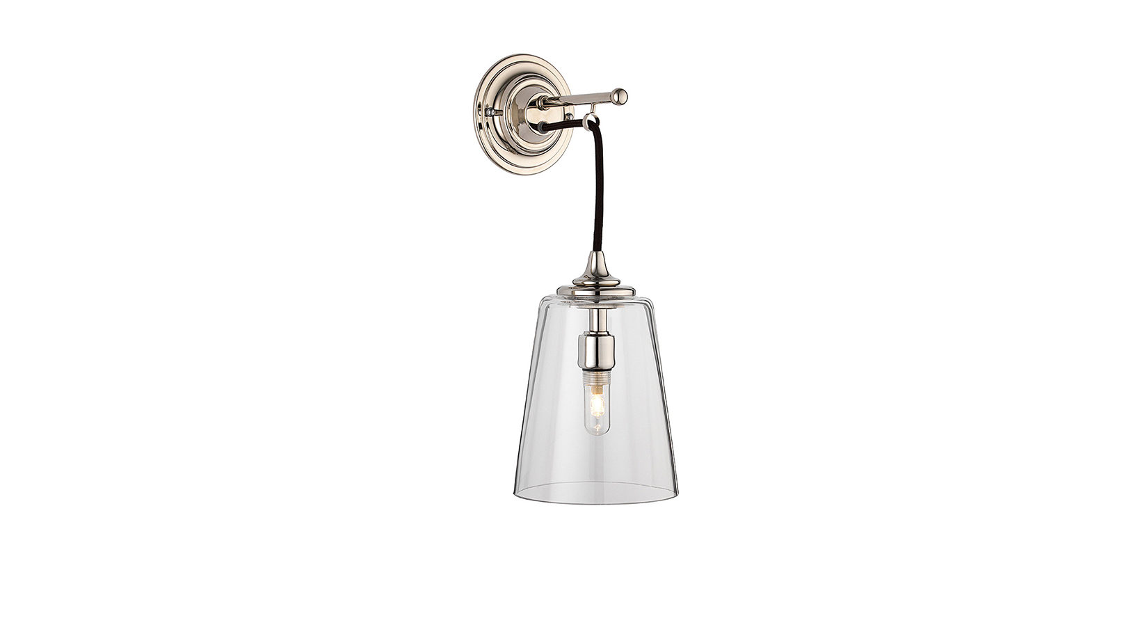 The Single Dalby Light, Conical Glass Shade