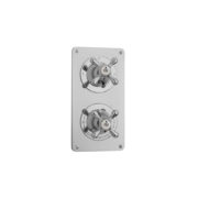The Mull Classic Shower Plate Thermo & 2 Way
