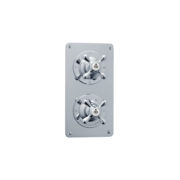The Mull Classic Shower Plate Thermo & 3 Way