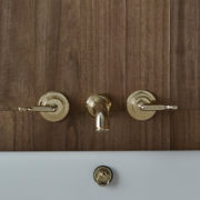 The Leawood Wall Mounted 3-Hole Bath Mixer