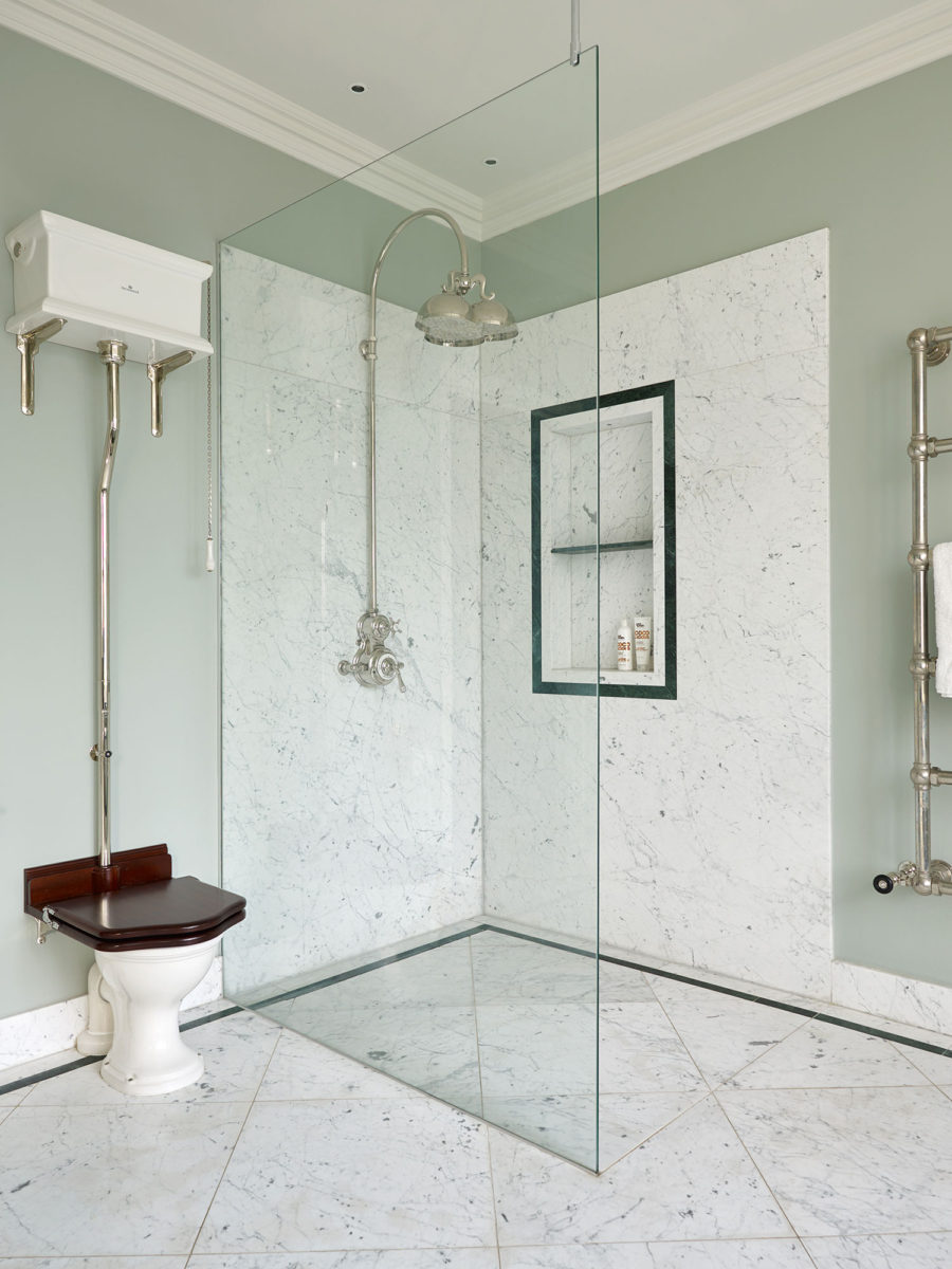 Dalby-Shower and Brora WC Suite